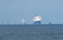 Queen Mary 2 escorte